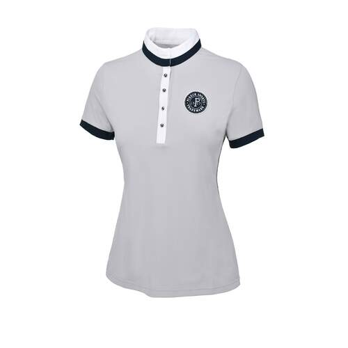 PIKEUR Turniershirt 1/2 Arm SABINA light grey 40