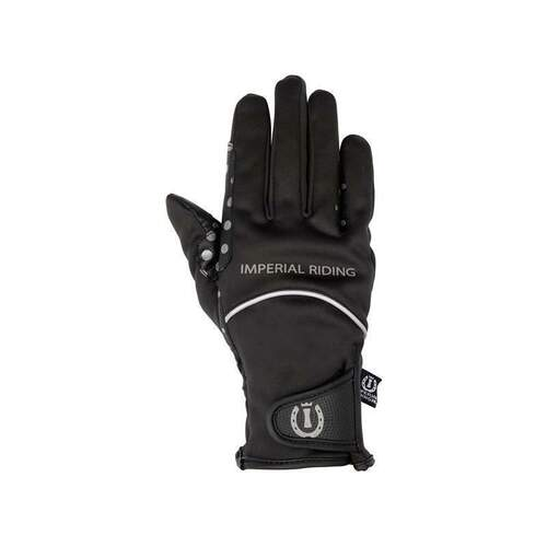 imperial riding handschuh stay warm schwarz XL