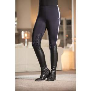 hkm winter reitleggings glorenza silikon kniebesatz