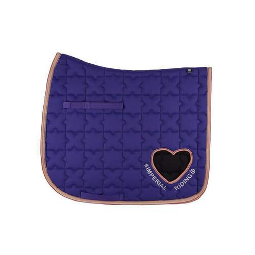 imperial riding dressurschabracke symbol royal purple Warmblut